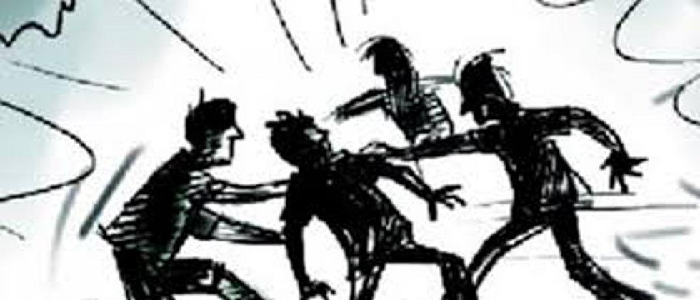 Clashes between two youth groups in Belgaum