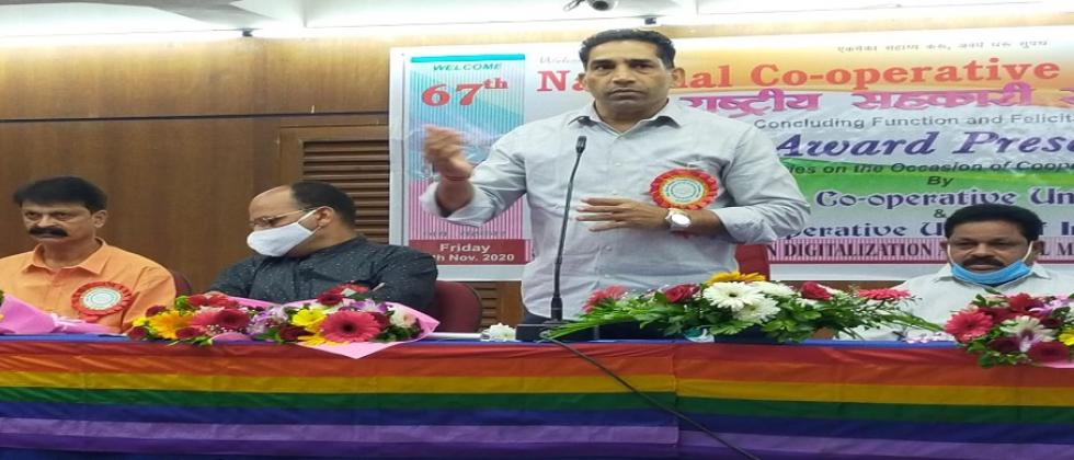Cooperative societies should extend a helping hand to the working and farming community Cooperation Minister Govind Gawde