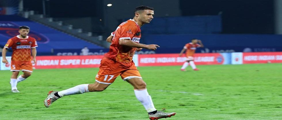 FC Goa beats FC Odisha by 1 goal in the Indian Super League match played at Bambolim