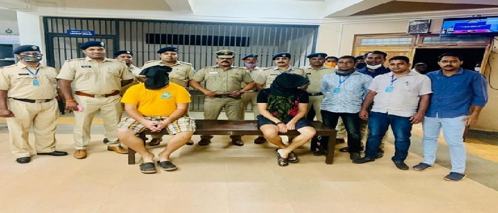 two russians arrested in goa