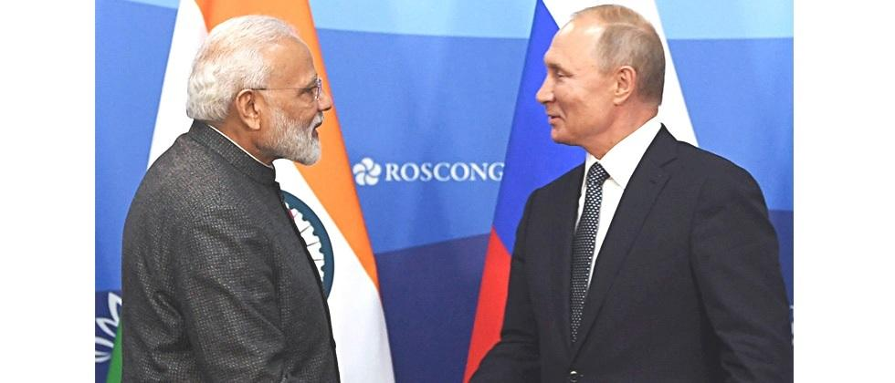 Russia backs India on the Kashmir issue