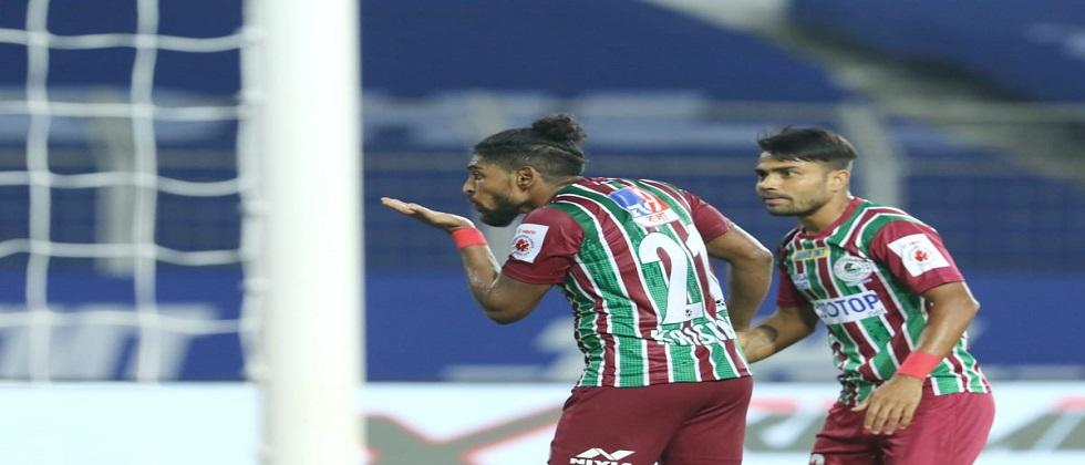 ATK Mohun Bagan at the 2nd position in Indian Super League by beating FC Goa