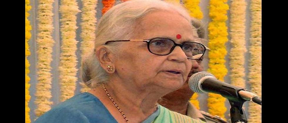 Former Goa Governor Mridula Sinha laid to rest today in Delhi Chief Minister will be present