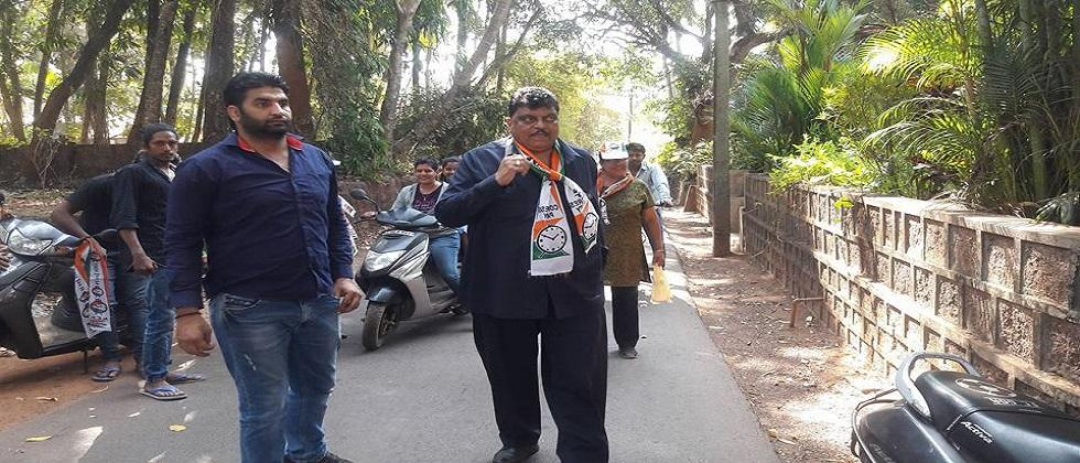 If you do something wrong Get out of the party Churchill Alemao challenges to NCP state president