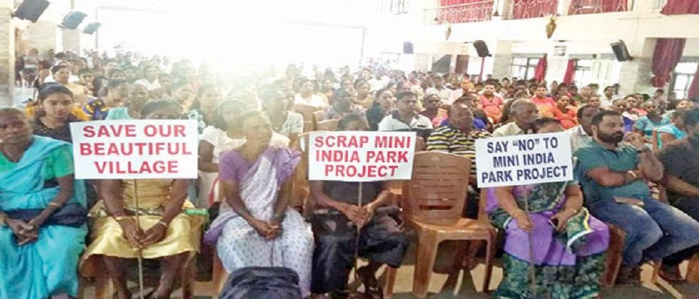 Villagers angry over illegal erection of notice boards
