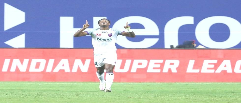 FC Odisha succeeded to draw ISL match with 2-2 goals against FC Jamshedpur
