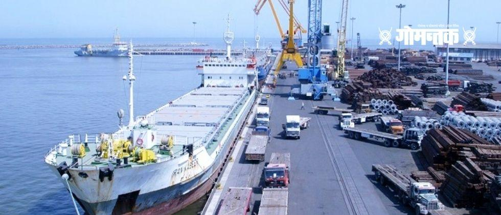 Goa ranks down in the ports in India