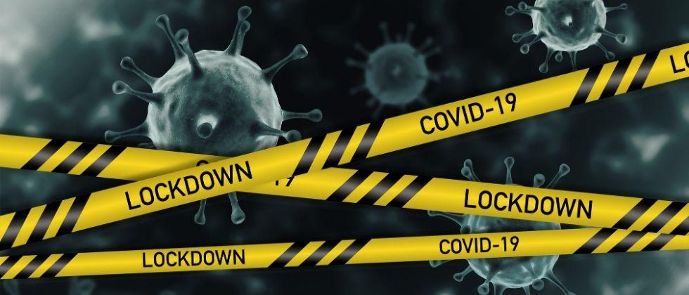 Central government advice to state declared lockdown on the corona infected area for 14 days