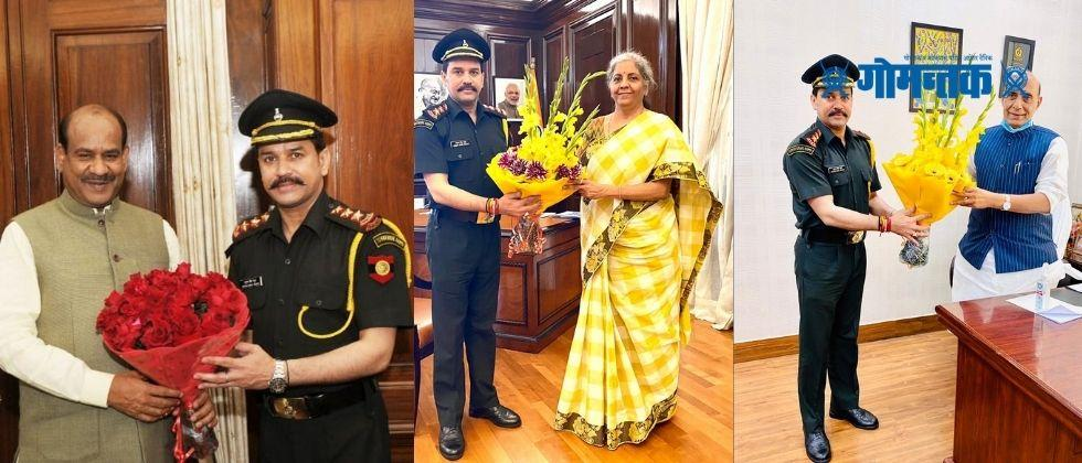 Union Minister of State for Finance Anurag Thakur promoted to Captain in the Territorial Army
