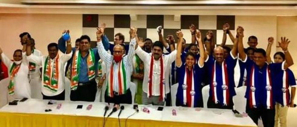 Congress and Goa Forward alliance for Assembly elections