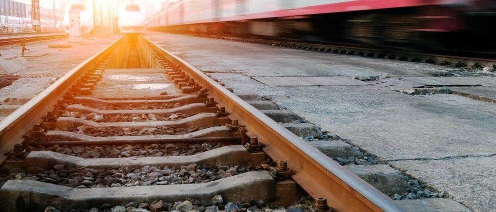 How much land was acquired by the Goa government to double the railways