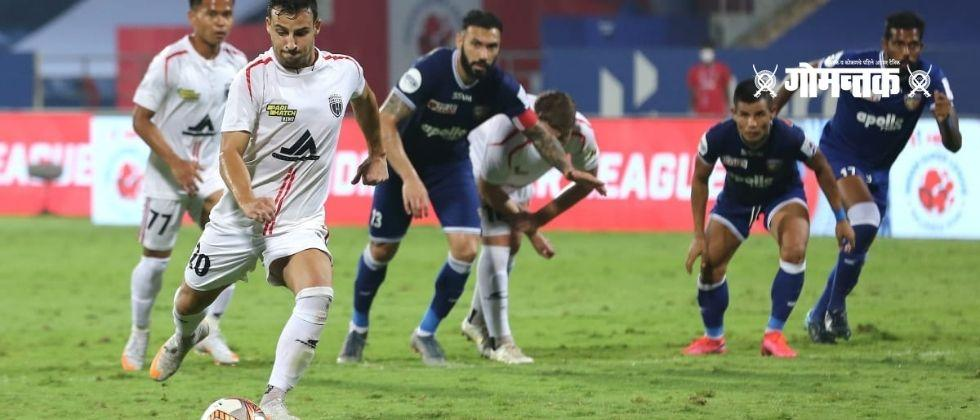 Northeast United and Chennai FC draw in Indian Super League