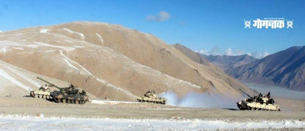 India and China will discuss Gogra Depasang and Hot Springs today