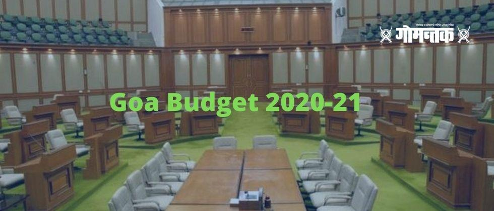 Goa Budget 2020 21 This years budget will be based on the concept of a Swaympurn Goa