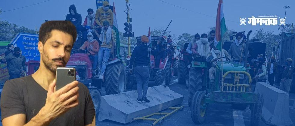Delhi Tractor Parade Violence A friend help from Canada delhi tractor parade Accused Deep Sidhu