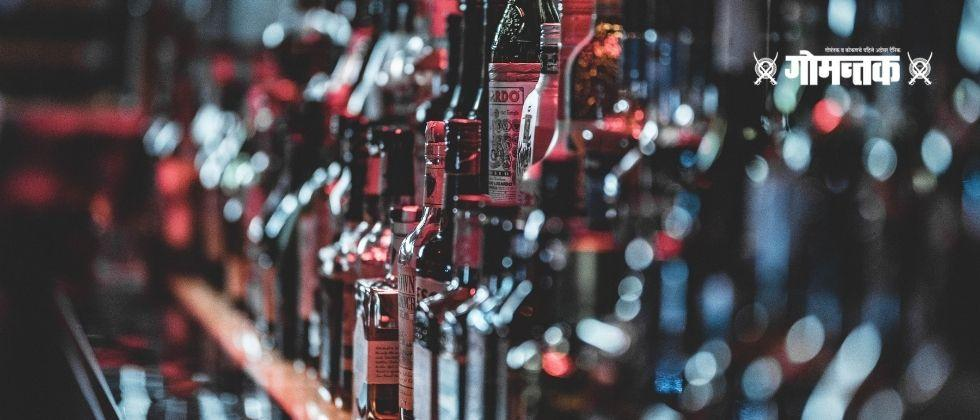 Raid on Goa state made foreign Alcohol stock