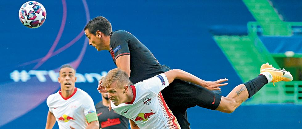 Leipzig beat Atletico Madrid in Champions Language quarter final match