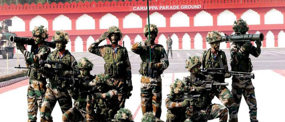Participation of Indian Army squad in Victory Day movement