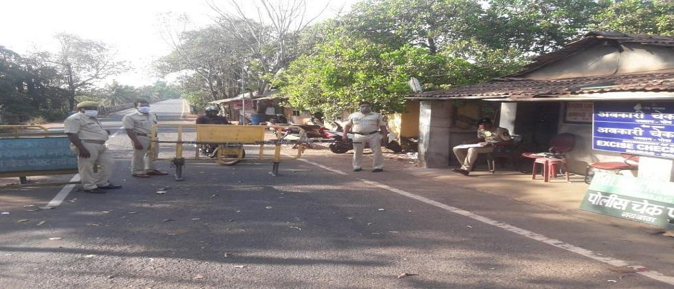Thermal scanning has been started from today at Banda on the highway from Goa to Sindhudurg