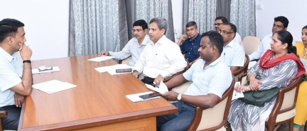 CM chaired finance dept meeting