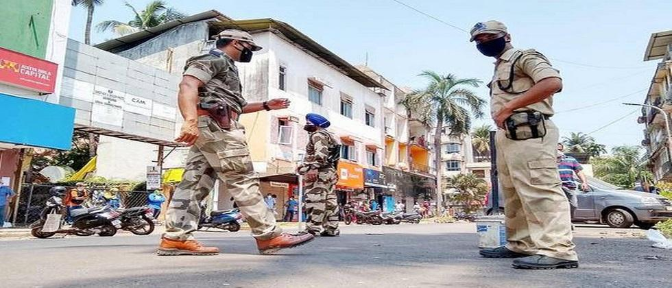In Goa, corona infection is under control