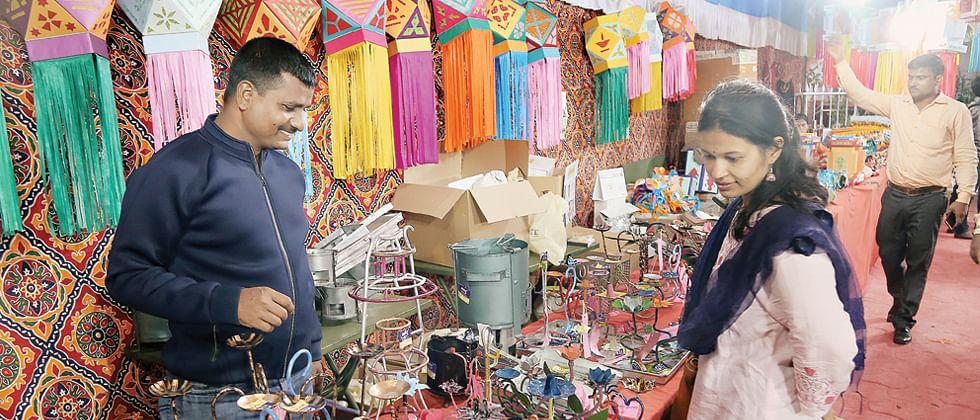Diwali shopping shops in Pernem overflowed with Lanterns and other Diwali essentials