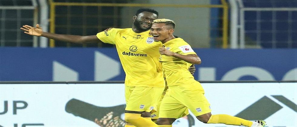 Mumbai City FC have once again claimed the top spot in the seventh season of the Indian Super League ISL football tournament