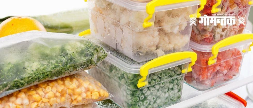 Know beforehand the damage frozen food can do to the body