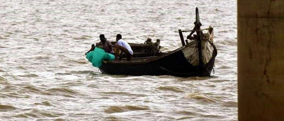 Fact Check Covid bodies thrown into the Ganges