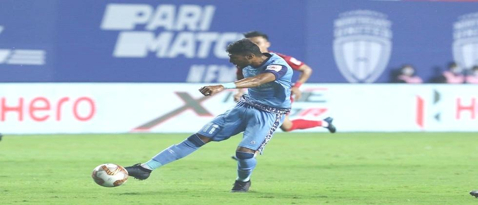 Jamshedpur FC beats Northeast United in yesterdays Indian Super League match played in Vasco