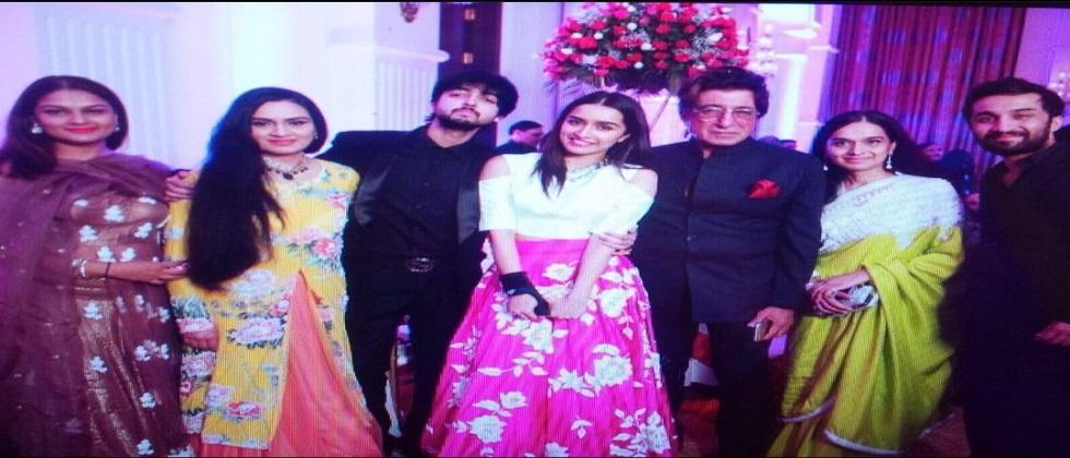 Padmini Kolhapures Son Priyaank Sharma Gets Engaged To Shaza Morani