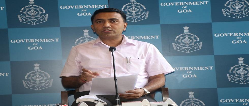 Goa has the best Growth rate as compared to other states in India said CM Pramod Sawant