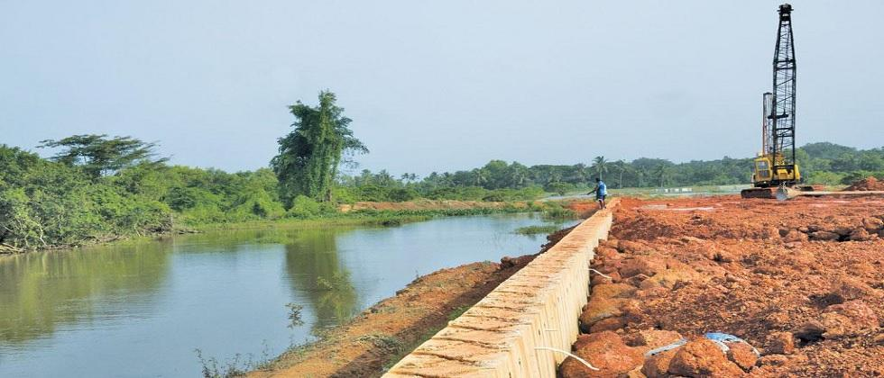 Road construction in Murgaon is still incomplete after six years