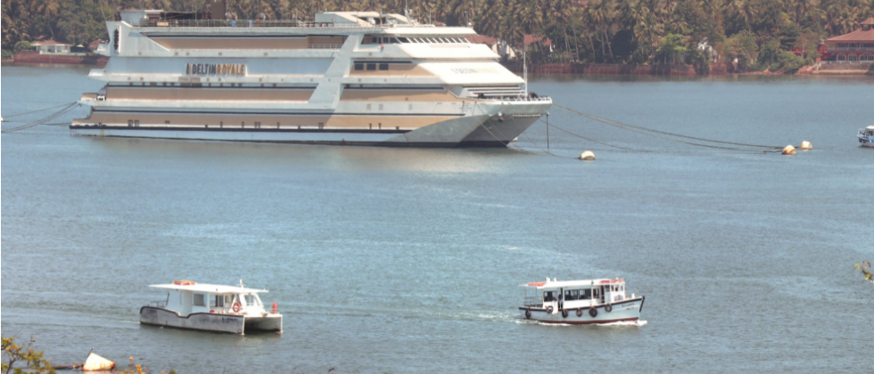 Domestic shipping in Goa has been permitted under Sagarmala project