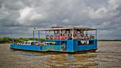 Fastest ferry on the Panaji Vasco route