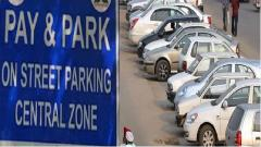Pay and parking issue in Panaji