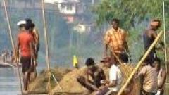Sand extraction in Goa
