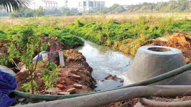 Residents fear health hazards over release of sewage into fields