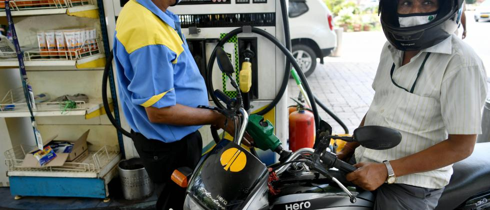 Petrol price was hiked again on Thursday