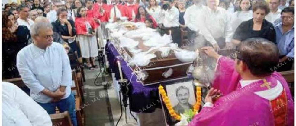 Fashion designer Wendell Rodricks' remains laid to rest