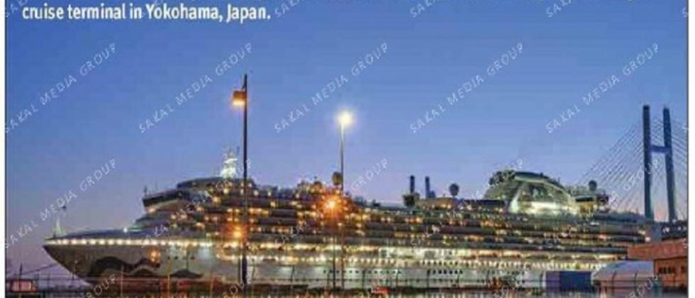 Goans evacuated from cruise boat on Japan coast, to be shifted in Delhi