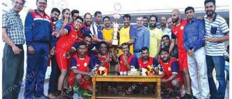 Herald clinch inter-media football title