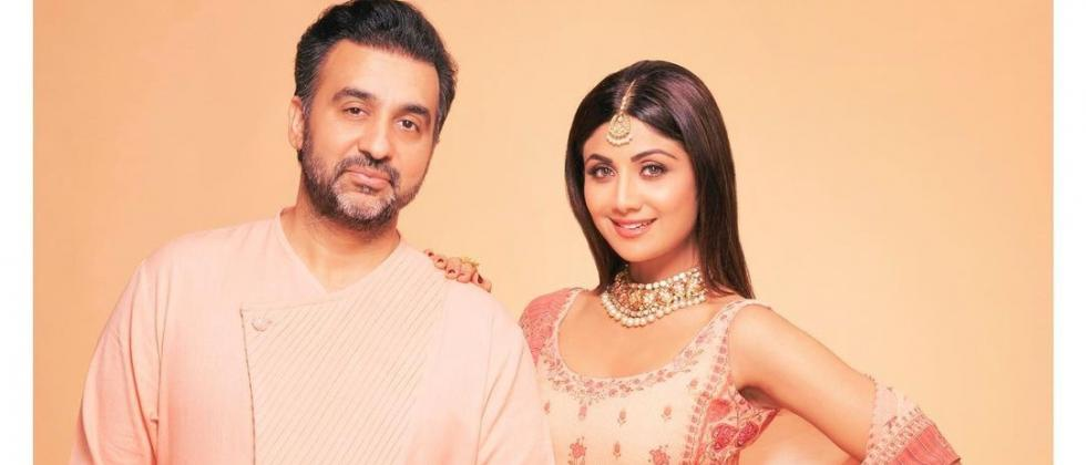 Shilpa Shetty shared this picture with her husband Raj Kundra on her social media account (Instagram/@theshilpashetty)