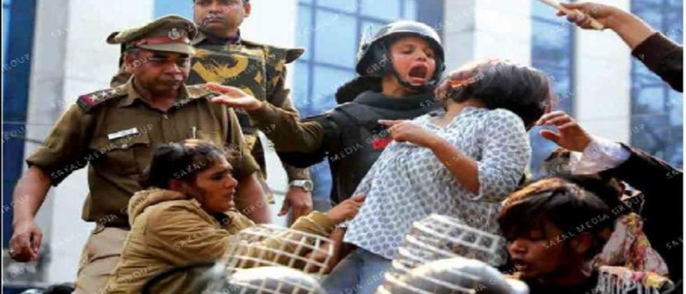 Brutalities against students continue unabated in Delhi