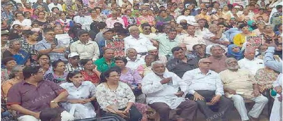 People protest against CAA NRC NPR at Margao