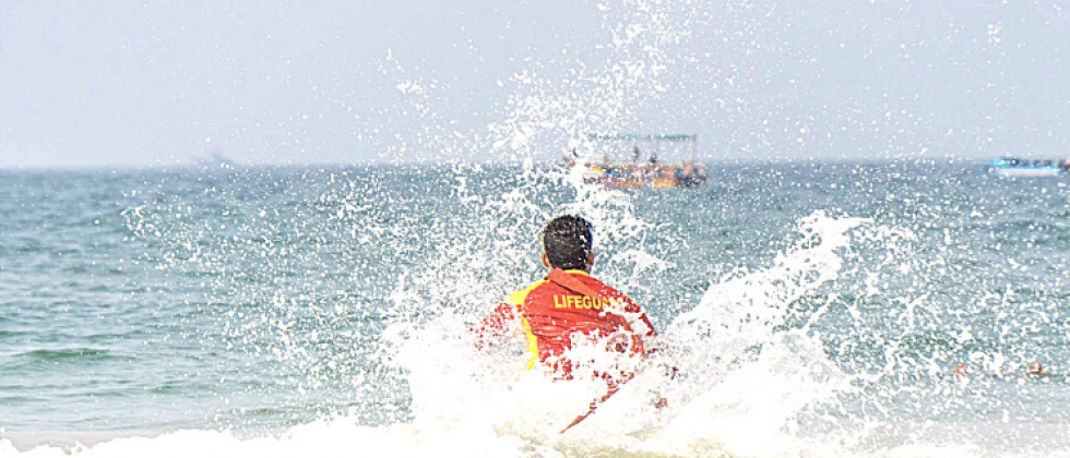 The long weekend witnessed 69 rescues along the Goa coast by Drishti Marine lifesavers posted along the beaches of Goa.
