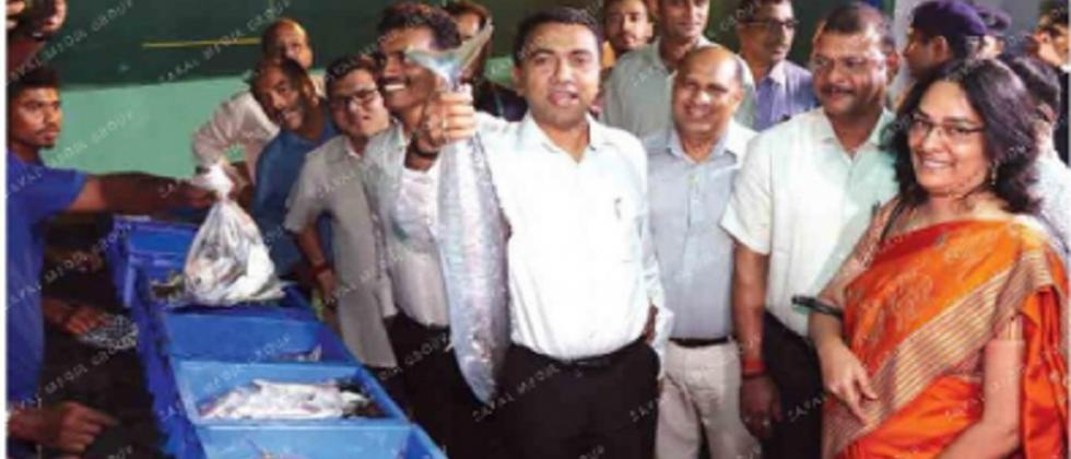 Full-fledged wholesale fish market with cold storage facilities at SGPDA market soon: CM