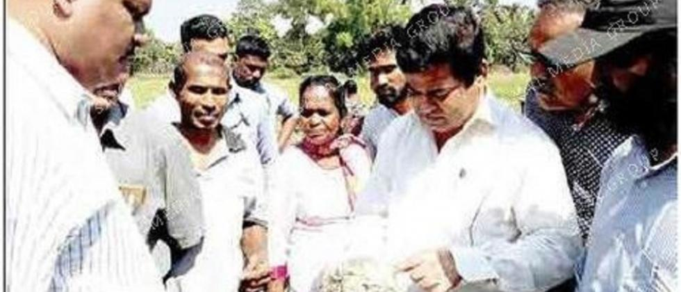 Kavlekar promises compensation to watermelon farmers