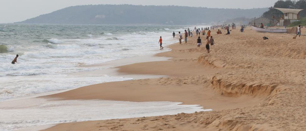 Coronavirus lockdown has resulted in fall in tourists coming to places like Goa.  Pic: Atish Naik