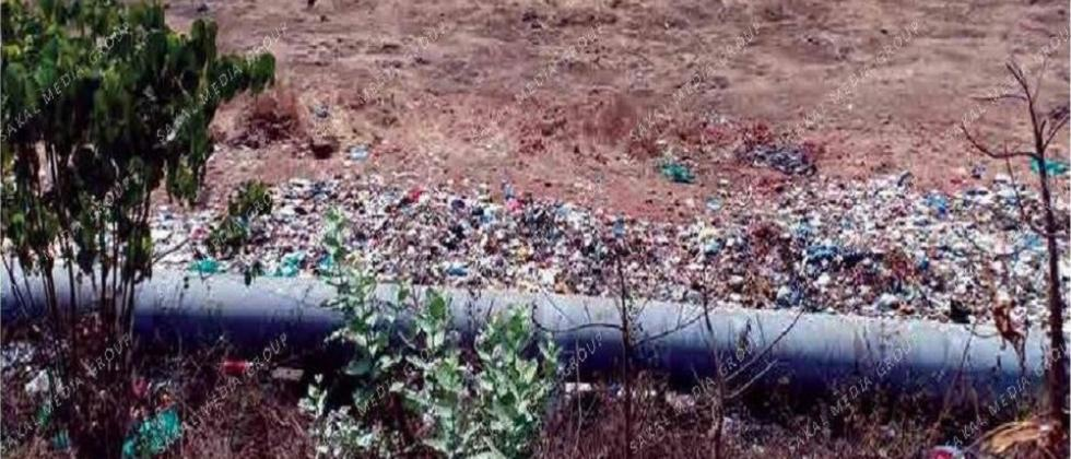 `Act against miscreants dumping garbage outside the main gate of BITS-Pilani campus'
